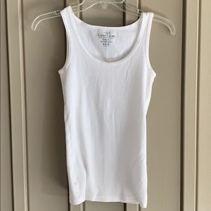 Faded Glory White Tank Top